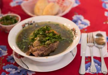 Doña Blanca la picada de cocina chilena en barrio Meiggs