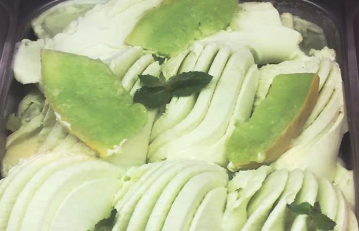 Helado de melón con vino, la receta veraniega que debes probar en El Taller