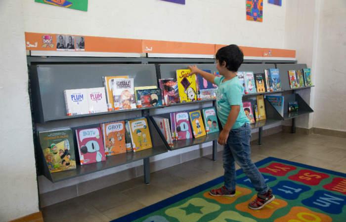 """La nueva """"comicteca"""" con libros para niños desde los tres años"""