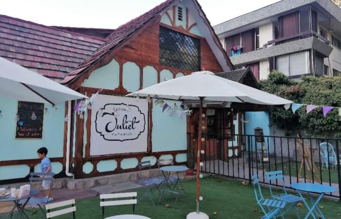 La Casa de Juliet, una cafetería perfecta para ir con niños en Av. Colón