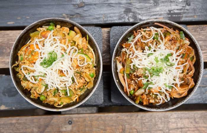 Wok and Food: el delivery al wok de una cocinera de lujo
