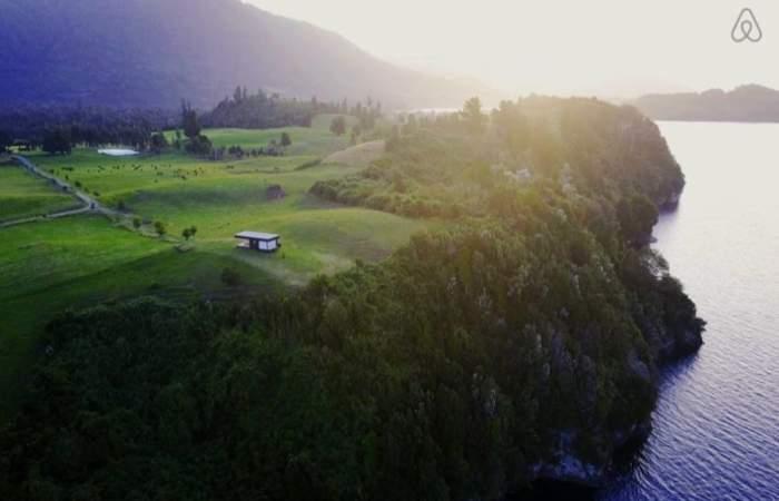 La paradisíaca cabaña en el sur de Chile que puedes arrendar con Airbnb