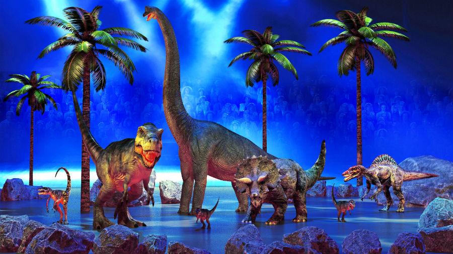 La muestra donde podrás caminar cerca de enormes dinosaurios