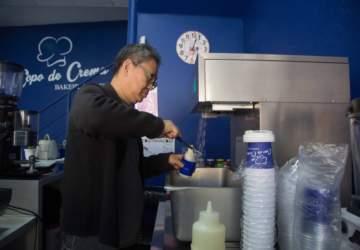 Copo de Crema, el café de Patronato donde saborear el helado coreano que parece nieve