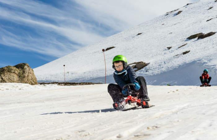 """Todos los detalles de Parques de Farellones, el """"Fantasilandia"""" de la nieve"""