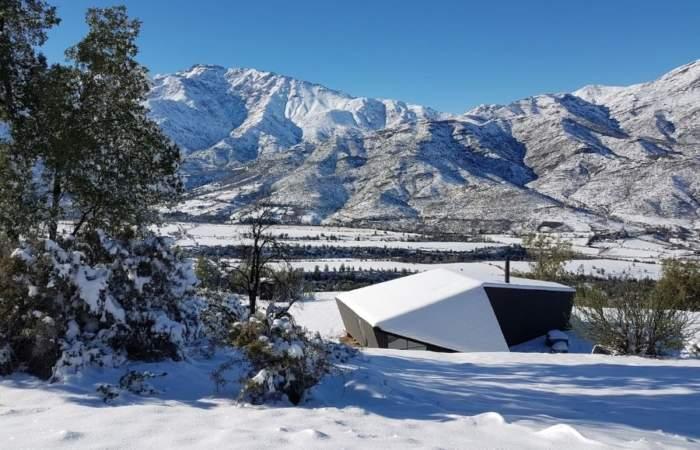 El acogedor y premiado refugio de montaña que puedes encontrar en Airbnb