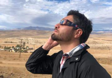 La gran fiesta del eclipse en Cachiyuyo