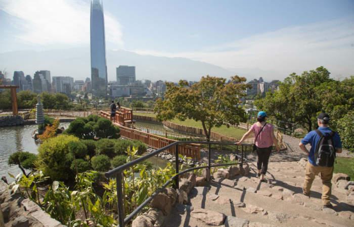 La reapertura del Jardín Japonés del cerro San Cristóbal será con aforo de 50 personas