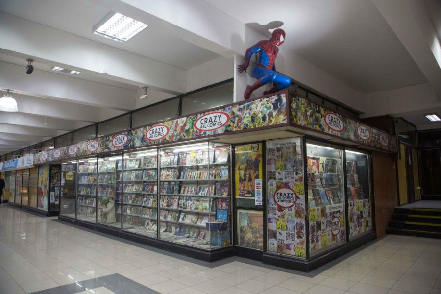 Librería Crazy all cómics