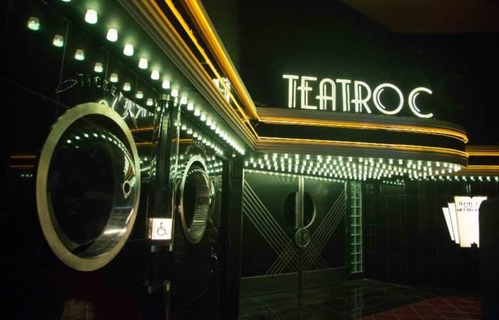 Teatro C: El teatro con estética de película de Kubric que acaba de abrir en Lo Castillo