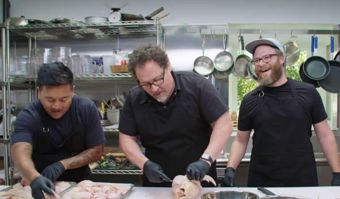 Pumba de El Rey León cocina en la segunda temporada de la serie Chef Show