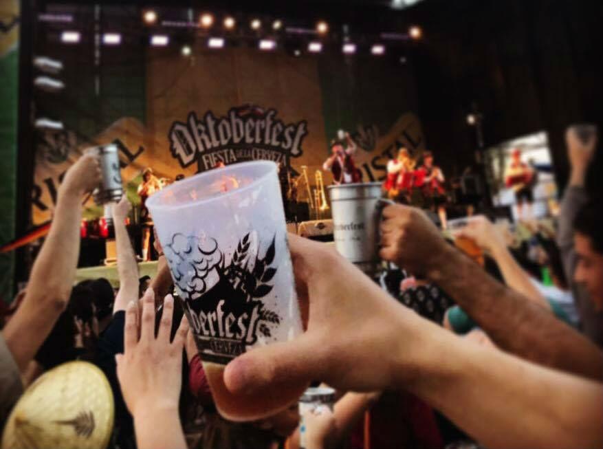 Oktoberfest de Malloco refresca el verano con 250 mil litros de cerveza
