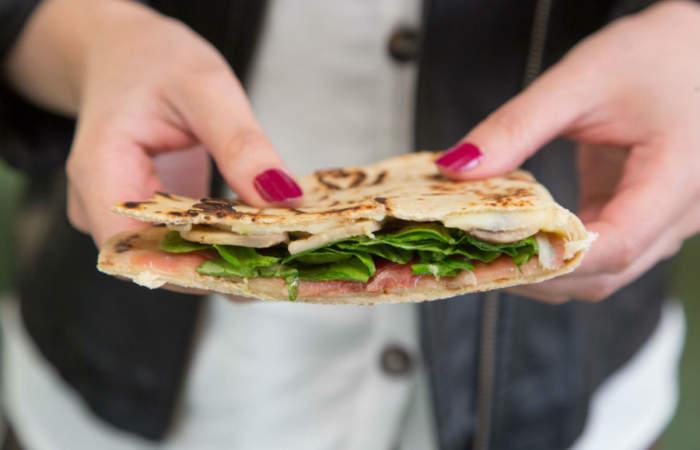 Piada, un lugar para tentarse con los sándwiches más populares de la calles de Italia