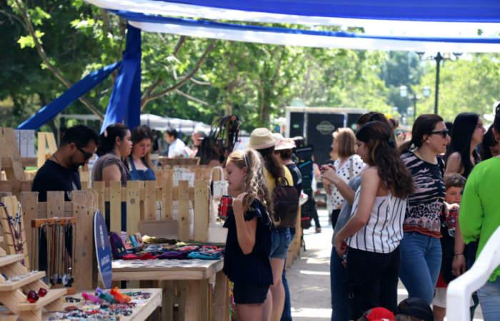 50 emprendedores se instalarán en el Parque Bicentenario en la feria Elijo Pyme