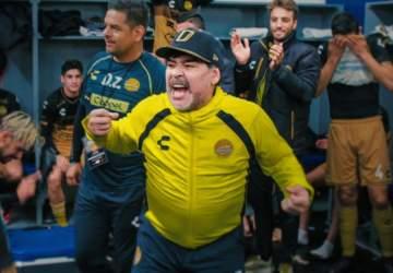 Maradona en Sinaloa: La historia de amor entre el ídolo y el equipo Dorados de Culiacán