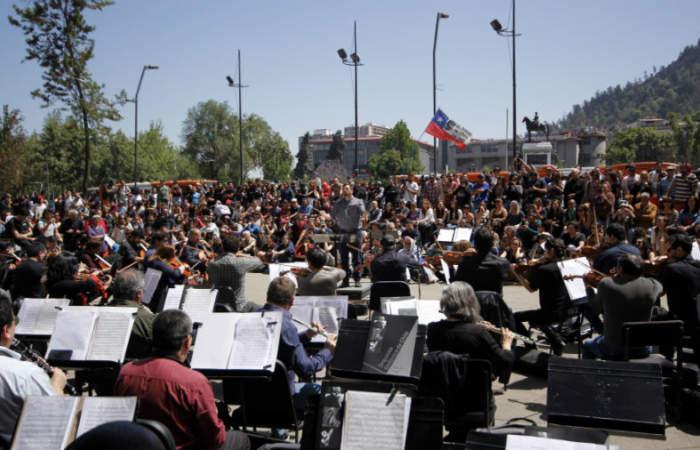 Un solo canto, el concierto gratuito de la Orquesta Sinfónica Nacional en el Parque Juan XXIII