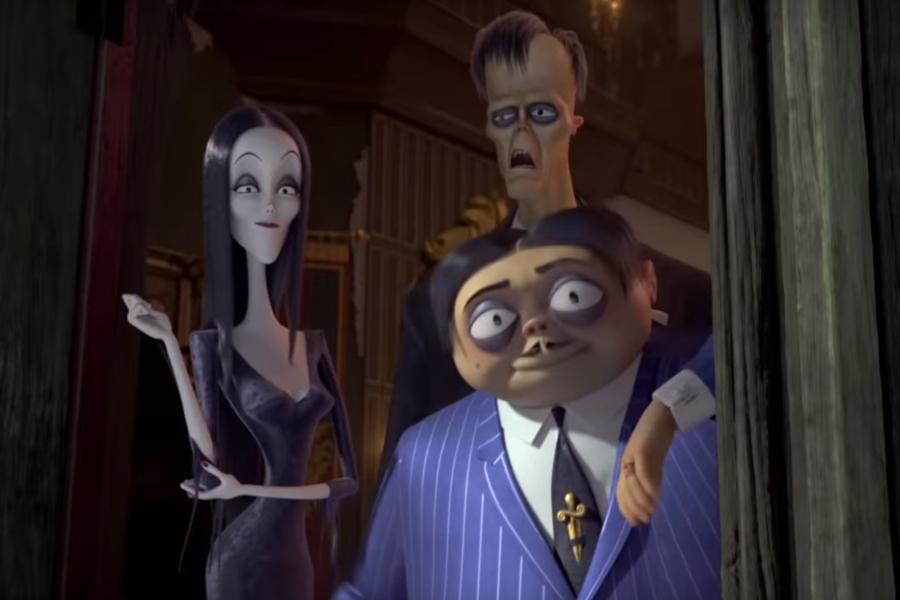 Los Locos Addams La Singular Familia Retorna Animada