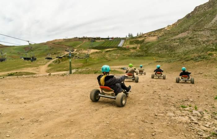 Parques de Farellones, el centro de diversiones con entretenidos panoramas de verano en la montaña