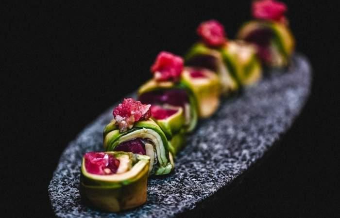Jardín Secreto: un delivery de sushi de alta cocina