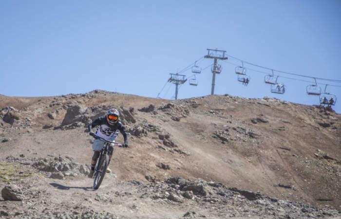 Valle Bike, las pistas más adrenalínicas para descender en bicicleta la cordillera