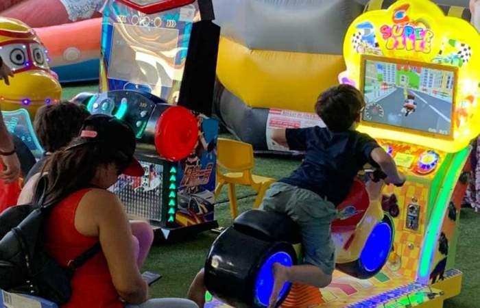 Happy Park, una carpa repleta de juegos en pleno Parque Araucano