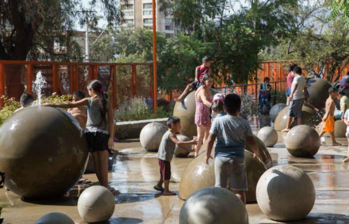 Parque de la Infancia, el mejor lugar para que los niños jueguen y disfruten la naturaleza