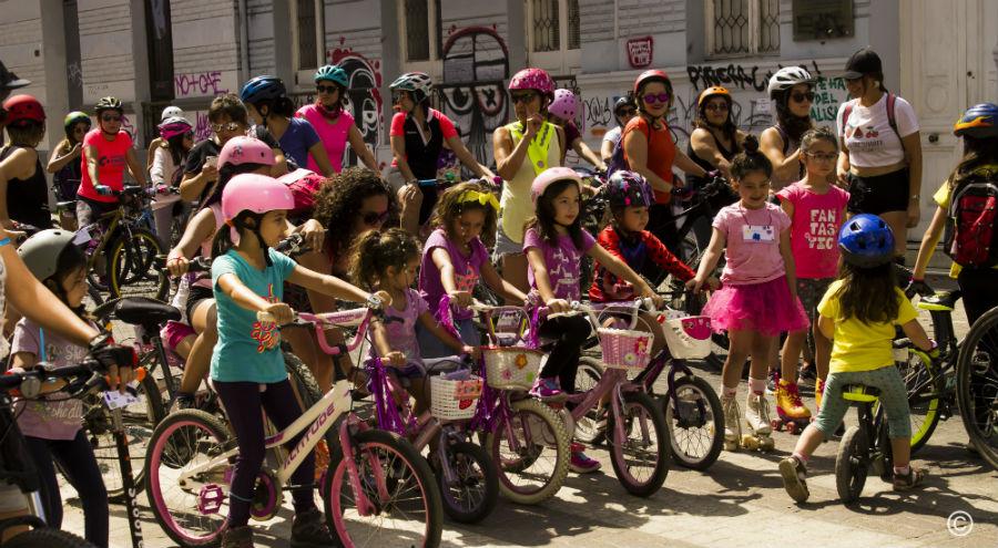 Gratis: La cicletada en que las niñas pedalearán por el Parque Almagro