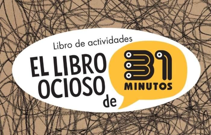 Ya puedes descargar gratis la segunda parte del Libro ocioso de 31 Minutos