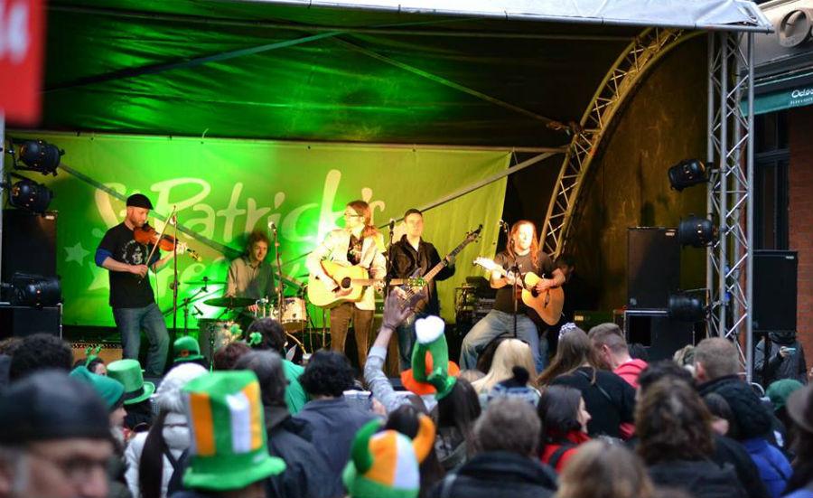 El Festival San Patricio llenará de danza y música irlandesa la Plaza de Armas de Santiago