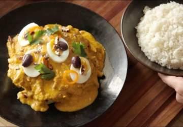 Receta de ají de gallina de Gastón Acurio, el chef más famoso de Perú