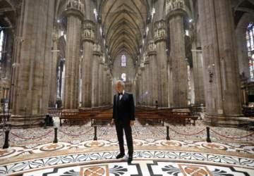 Revive el emotivo concierto de Andrea Bocelli en la Catedral de Milán