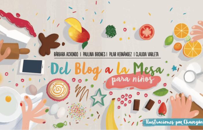 Del blog a la mesa, el libro de cocina para niños que ahora puedes descargar gratis
