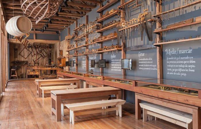 Aprende carpintería y experimenta con los juegos en línea del hermoso Museo Taller