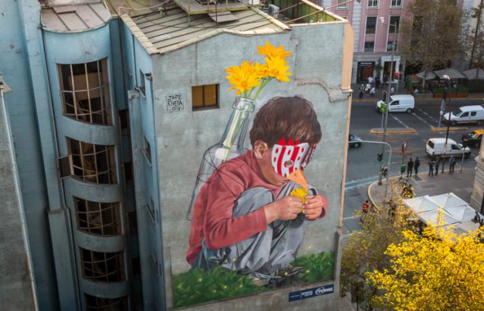 Muros con Historia, la serie online sobre los murales del barrio Bellas Artes y Lastarria