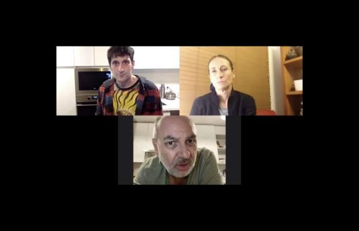 Del teatro al living: Las obras por Zoom con Amparo Noguera y Luis Gnecco