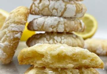 Receta de galletas de mantequilla y limón, fácil y para hacer con los niños