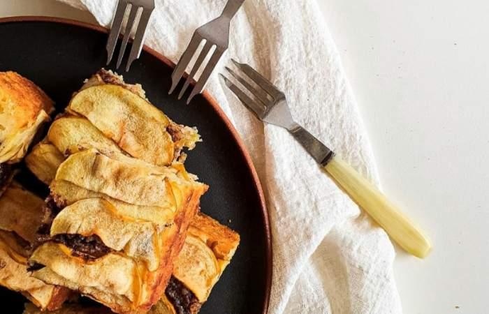 Receta de queque de manzana y yogurt: para comerse más de un trozo