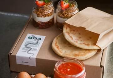 """Todo el sabor de Boa Restorán y su """"comida real"""" dentro de una caja llena de sabor"""