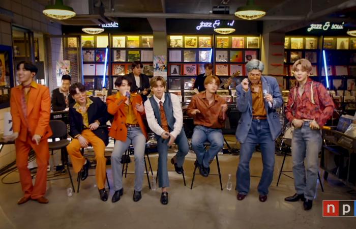 BTS alegra la semana de los fans del k-pop con su sorpresivo Tiny Desk Concert