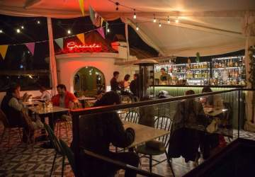 Gracielo Bar: el local tres terrazas en pleno Providencia