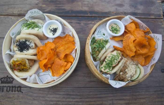 Bao Bar reabrió con una amplia terraza y nueva carta de deliciosos panes al vapor
