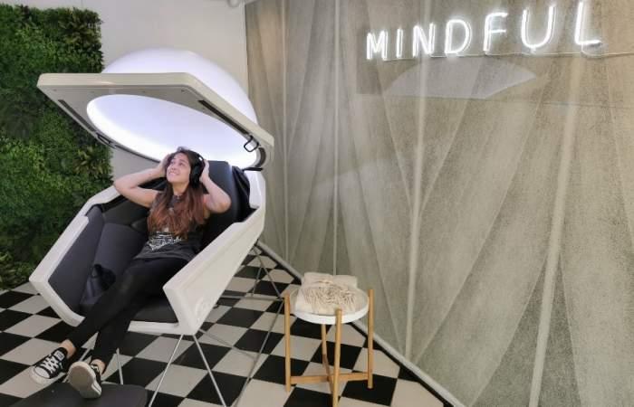 Mindful: la primera cápsula en Chile para relajarse y meditar
