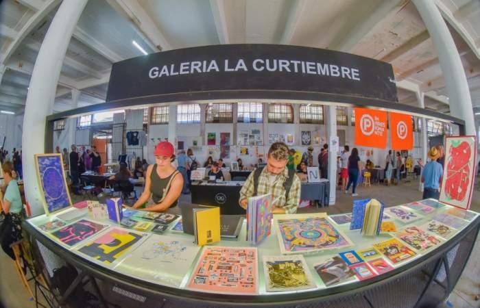 La Curtiembre: la galería del Persa Bio Bío para ver y comprar arte a buenos precios