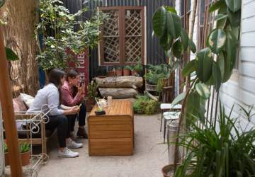 Mezcla Cafetería: un café de especialidad con jardín escondido en Bellavista