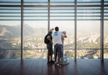 El mirador más alto de América Latina vuelve con su asombrosa vista de Santiago