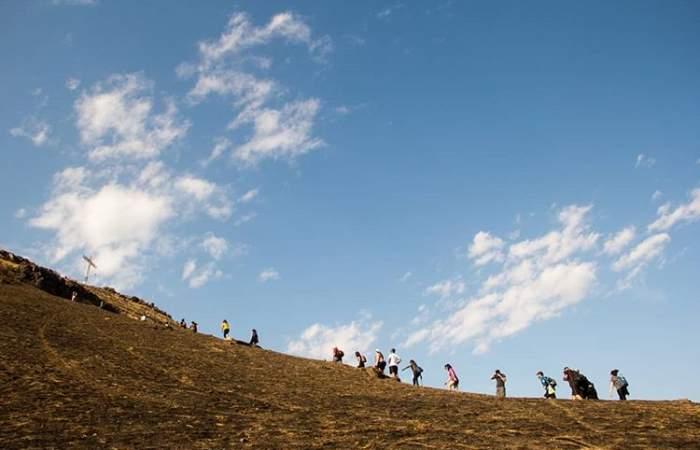 El entretenido paseo por el primaveral cerro Renca
