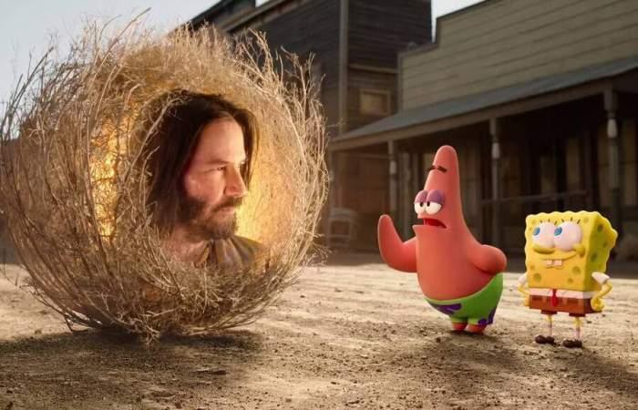 Bob Esponja Al Rescate El Personaje Protagoniza Una Alocada Película
