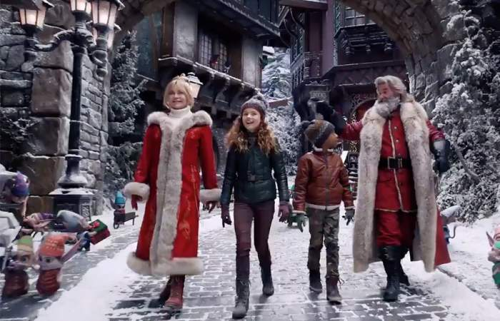 Las películas de Navidad de Netflix perfectas para ver con los niños