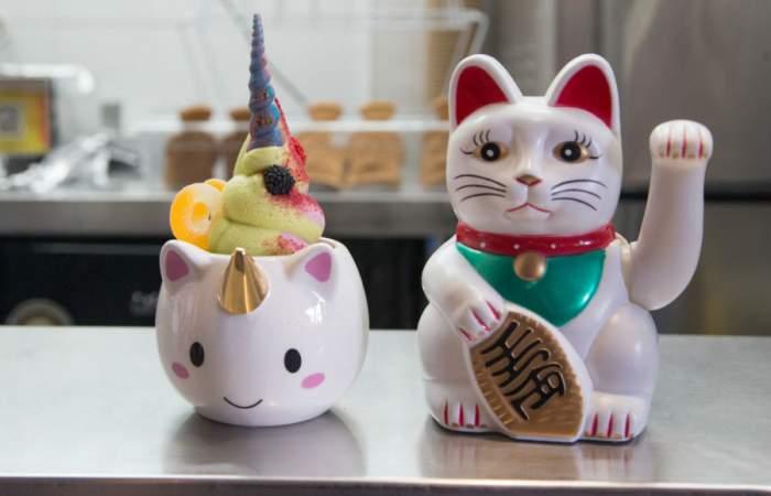 Nekojita Taiyaki, los helados japoneses con forma de unicornios y sirenas