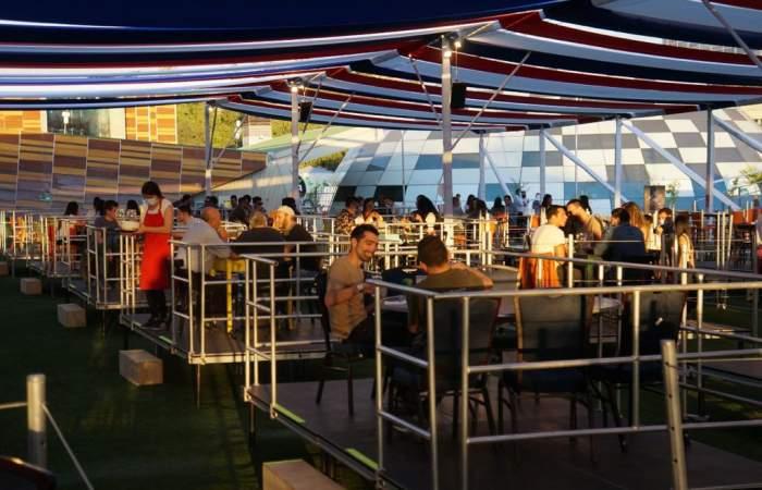 Las nuevas terrazas que le ponen sabor al Parque Araucano esta temporada